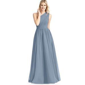 Azazie Molly Dusty Blue Bridesmaid Dress